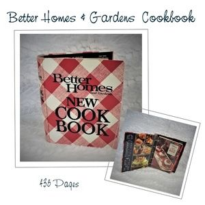 Better Homes And Garden's Cookbook